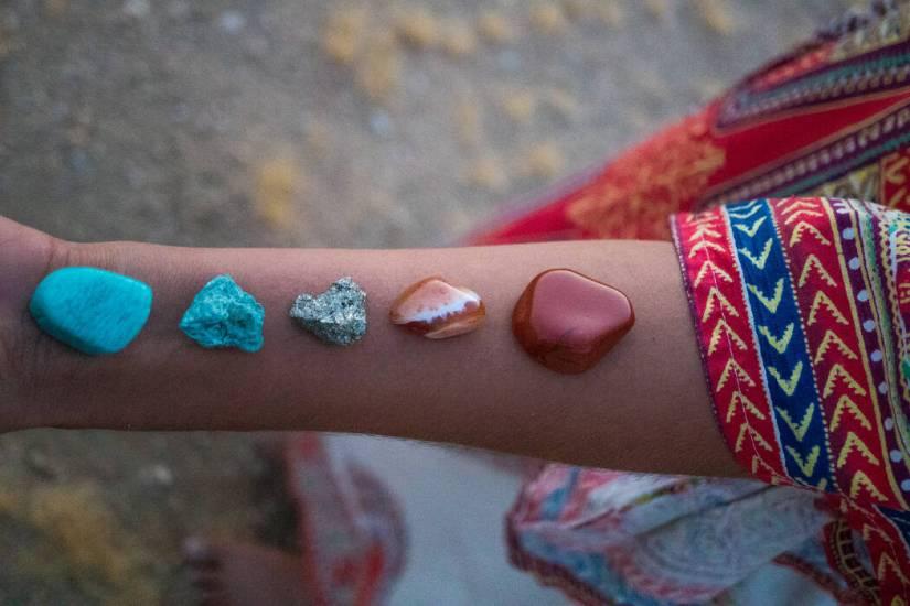 水晶能量療癒