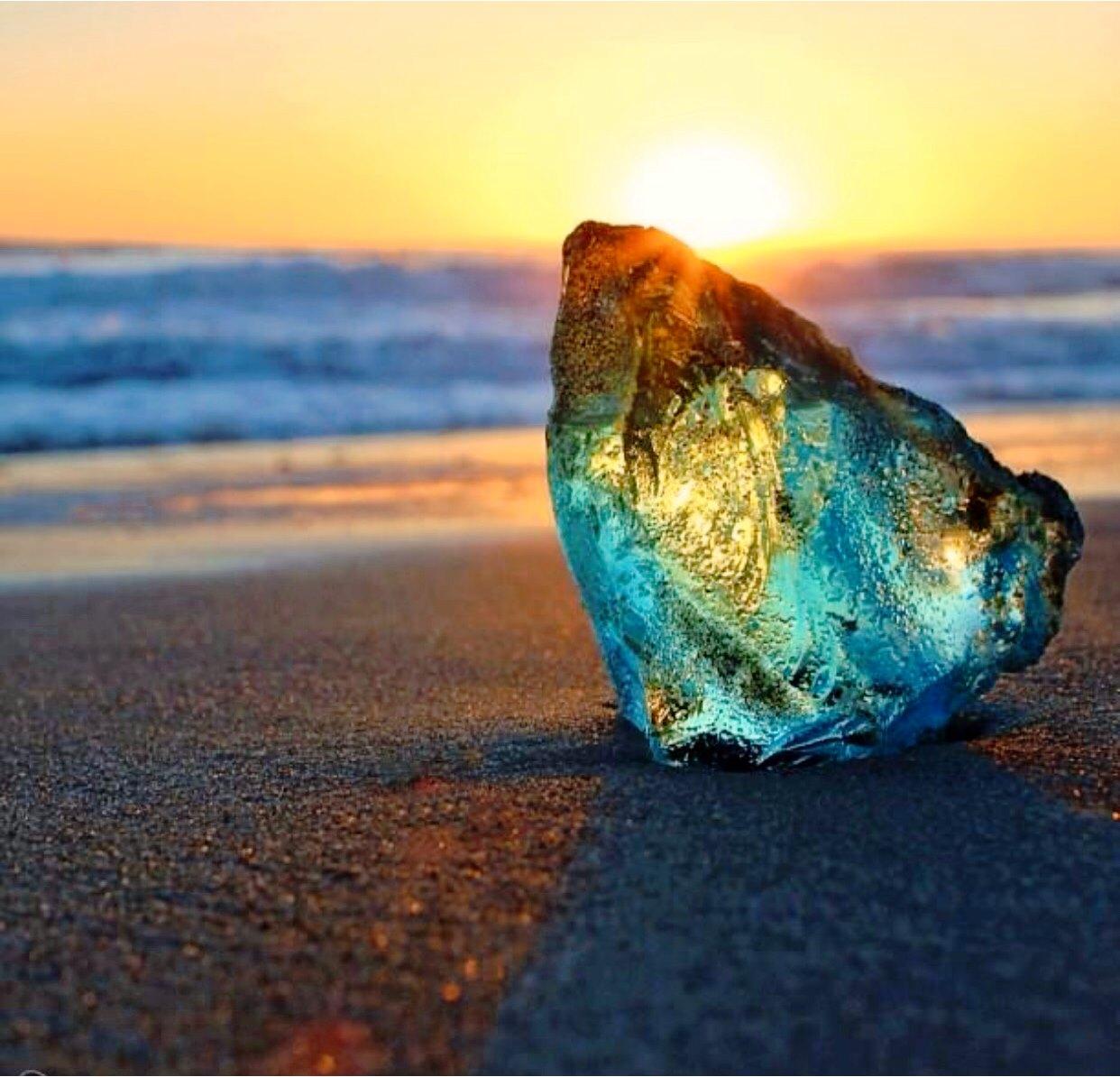 美麗的水晶寶石